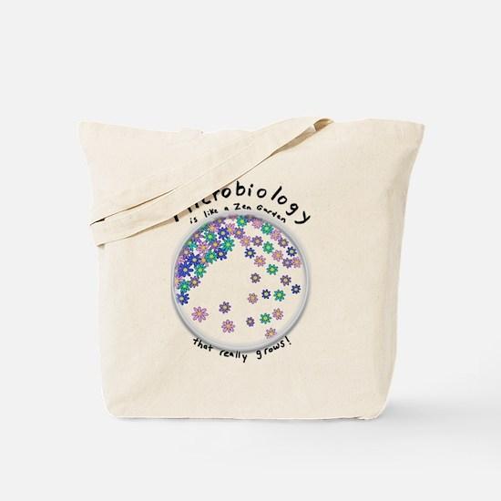 Microbiology is a Zen Garden Tote Bag