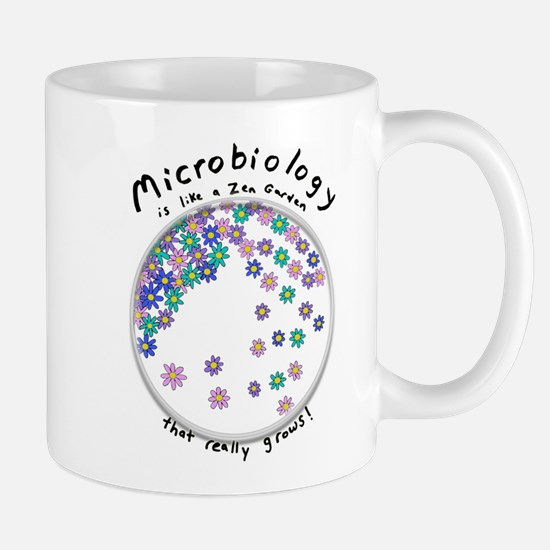 Microbiology is a Zen Garden Mugs