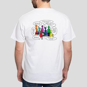 National Lab Week Humor White T-Shirt