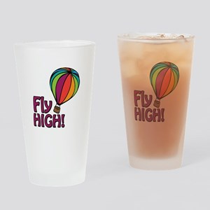 Fly High Drinking Glass