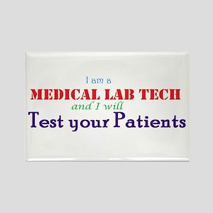 I Am A Lab Tech Magnets