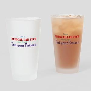 I am a Lab Tech Drinking Glass