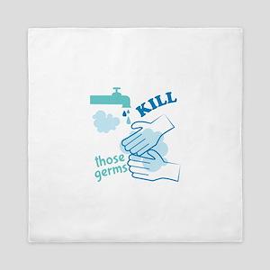 Kill Germs Queen Duvet
