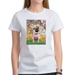 Spring / Pug Women's T-Shirt