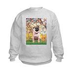 Spring / Pug Kids Sweatshirt