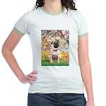 Spring / Pug Jr. Ringer T-Shirt