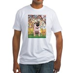Spring / Pug Fitted T-Shirt