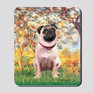 Spring / Pug Mousepad