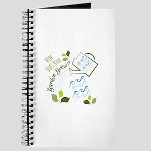 Your Garden Grow Journal