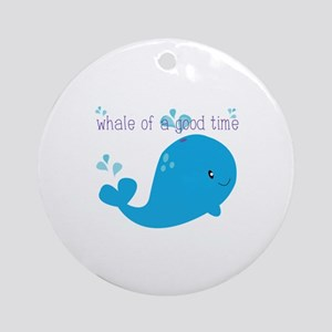 A Good Time Ornament (Round)