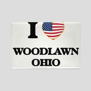 I love Woodlawn Ohio Magnets
