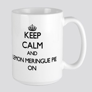 Keep Calm and Lemon Meringue Pie ON Mugs