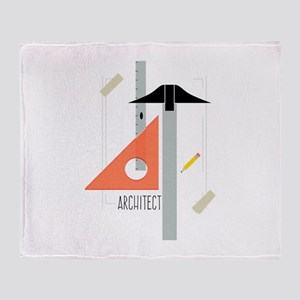 Architect Throw Blanket