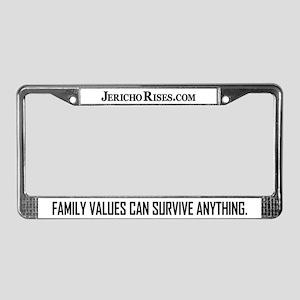 "Jericho ""Survival..."" series License Plate Frame"