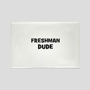 freshman Dude Rectangle Magnet