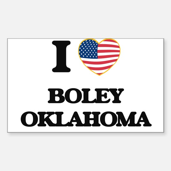 I love Boley Oklahoma Decal