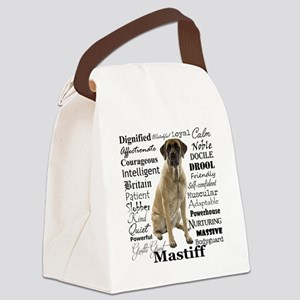 Mastiff Traits Canvas Lunch Bag