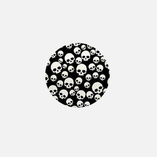 Unique Skull Mini Button