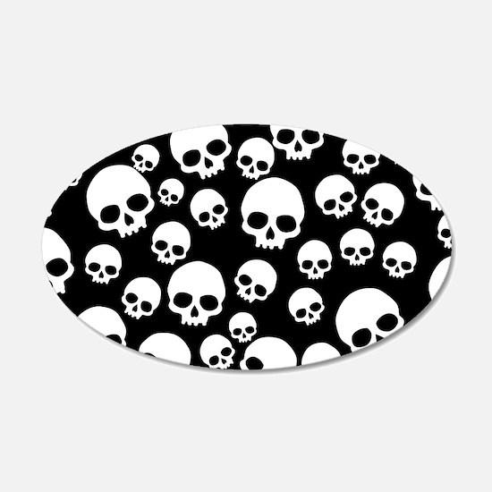 Cute Skulls Wall Decal