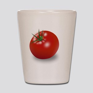 Red tomato Shot Glass