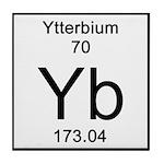 70. Ytterbium Tile Coaster
