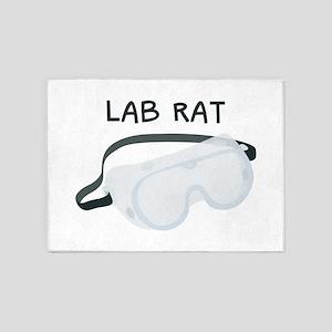 Lab Rat 5'x7'Area Rug