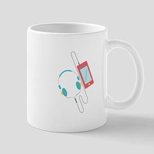 MP3 Player Mugs