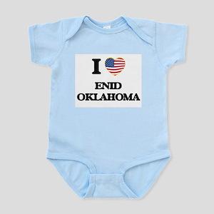 I love Enid Oklahoma Body Suit