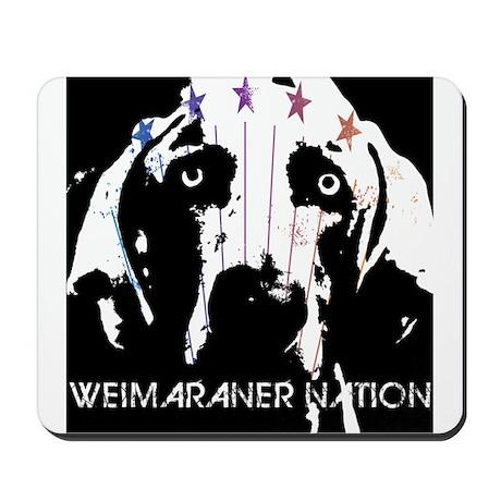 Weimaraner Nation Mousepad