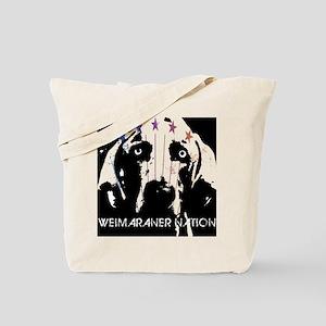 Weimaraner Nation Tote Bag