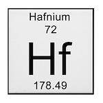 72. Hafnium Tile Coaster