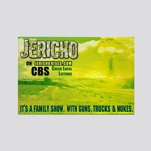 """Jericho """"Family Show"""" Rectangle Magnet"""