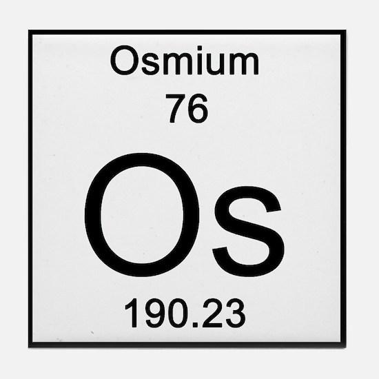 Osmium periodic table coasters cork puzzle tile coasters osmium tile coaster urtaz Images