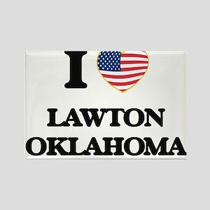 I love Lawton Oklahoma Magnets