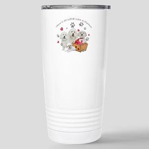 No Love Like A Maltese Travel Mug
