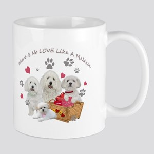 No Love Like A Maltese Mugs