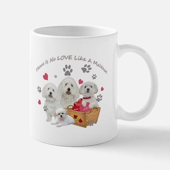 No Love Like A Maltese Mugs