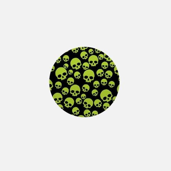 Cute Skull Mini Button