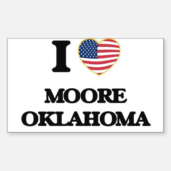 I love Moore Oklahoma Decal