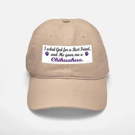 God Gave Me A Chihuahua Baseball Baseball Cap