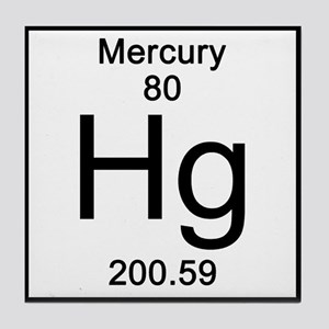 Periodic table mercury coasters cafepress mercury tile coaster urtaz Image collections
