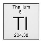 81. Thallium Tile Coaster