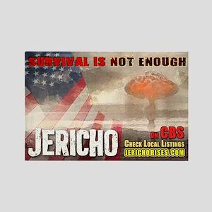 """Jericho """"Survival..."""" Rectangle Magnet"""