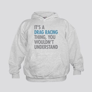 Drag Racing Thing Kids Hoodie