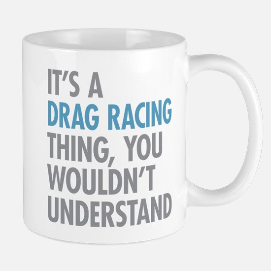 Drag Racing Thing Mugs
