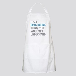 Drag Racing Thing Apron