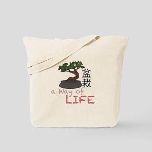 Bonsai A Way of Life Tote Bag