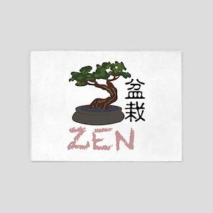 Bonsai Zen 5'x7'Area Rug