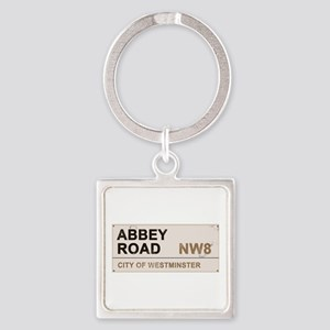 Abbey Road LONDON Pro Square Keychain