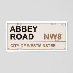 Abbey Road LONDON Pro Aluminum License Plate